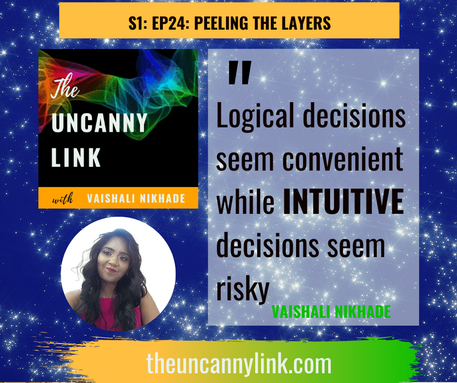 logic vs. intuition | The Uncanny Link podcast