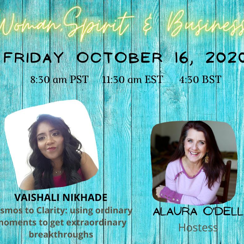 Keynote speaker for Women, spirit and business